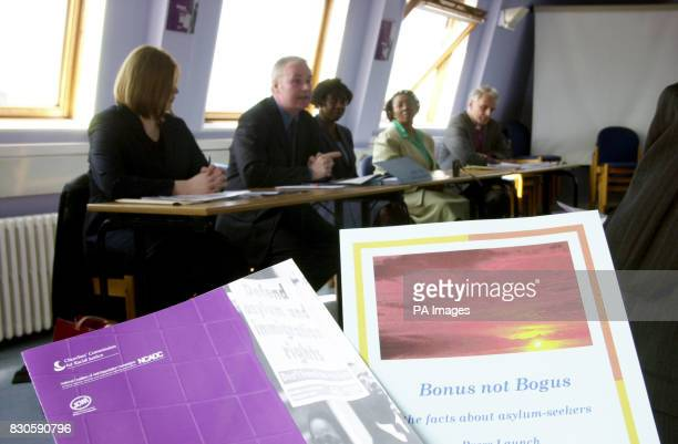 Launch for the publication of a report by the CCRJ entitled Bonus not Bogus The Facts About Asylum Seekers at Inter Church House in south London The...