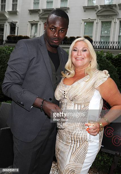 Launch Of Agatha Relota'S Carla And Leo'S World Of Dance Book Hempel Hotel London Britain 01 Jun 2011 Ben Ofoedu And Vanessa Feltz