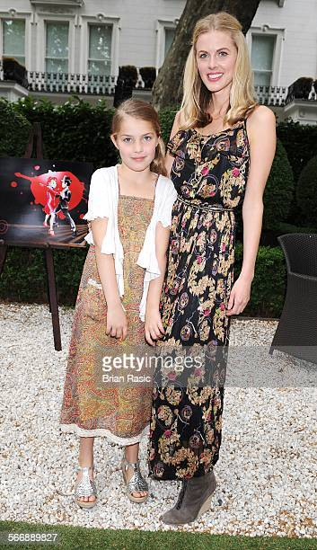 Launch Of Agatha Relota'S Carla And Leo'S World Of Dance Book Hempel Hotel London Britain 01 Jun 2011 Donna Air And Daughter