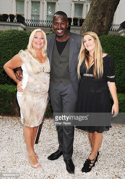 Launch Of Agatha Relota'S Carla And Leo'S World Of Dance Book Hempel Hotel London Britain 01 Jun 2011 Vanessa Feltz Ben Ofoedu And Saskia Feltz