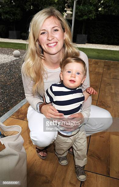 Launch Of Agatha Relota'S Carla And Leo'S World Of Dance Book Hempel Hotel London Britain 01 Jun 2011 Alison Balsom And Son