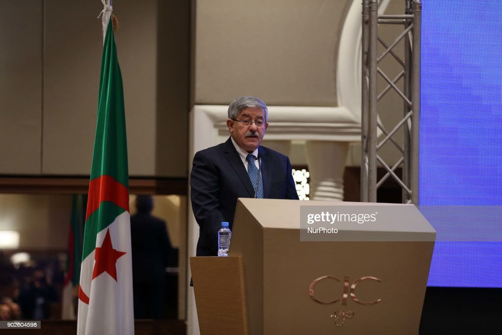 Alcomsat satellite launch in Algiers : News Photo