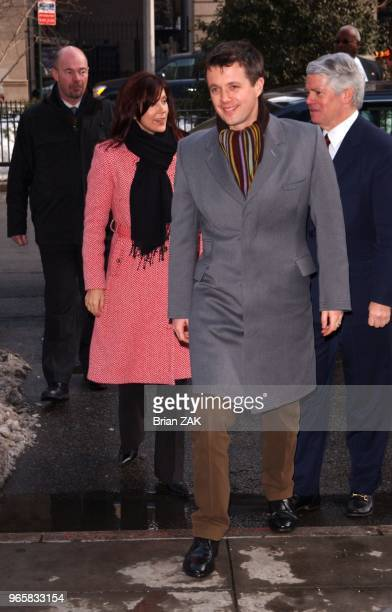 USA Launch of Hans Christian Andersen's Bicentenary attended by Their Royal Highnesses Crown Prince Frederik and Crown Princess Mary of Denmark held...