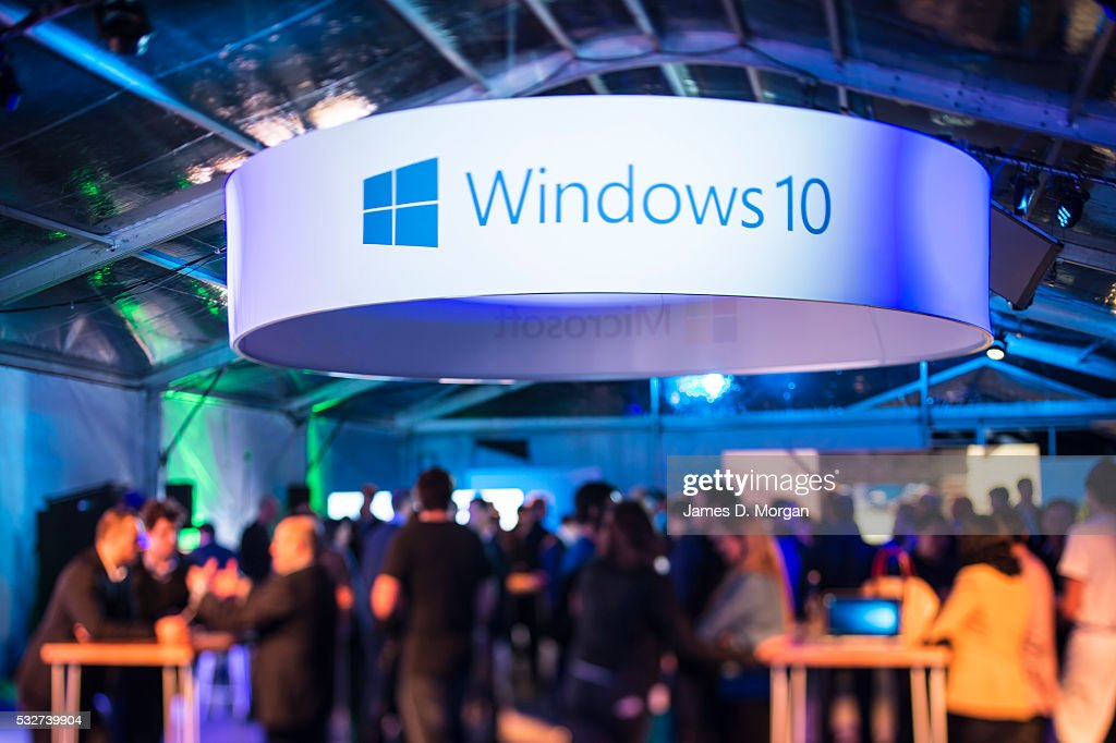 Microsoft's Windows 10 Launch In Sydney : News Photo