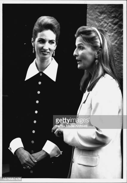 Launch of next edition of Vogue as Kirribilly House with special model Annita KeatingStraight Up Straight Down Annita Keating and Vogue editor Nancy...