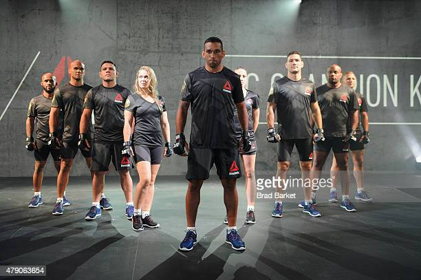 Launch Of The Reebok UFC Fight Kit at Skylight Modern on June 30, 2015 in New York City.