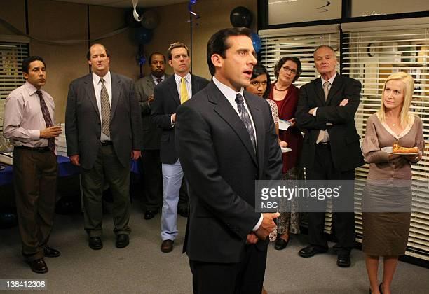 "Launch Party"" Episode 3 -- Aired -- Pictured: Oscar Nunez as Oscar Martinez, Brian Baumgartner as Kevin Malone, Leslie David Baker as Stanley Hudson,..."