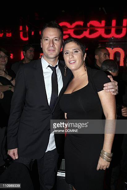 Launch Party for 'Goom Radio at Viproom in Paris France on October 16th 2008 Roberto Cuirleo and Diam's