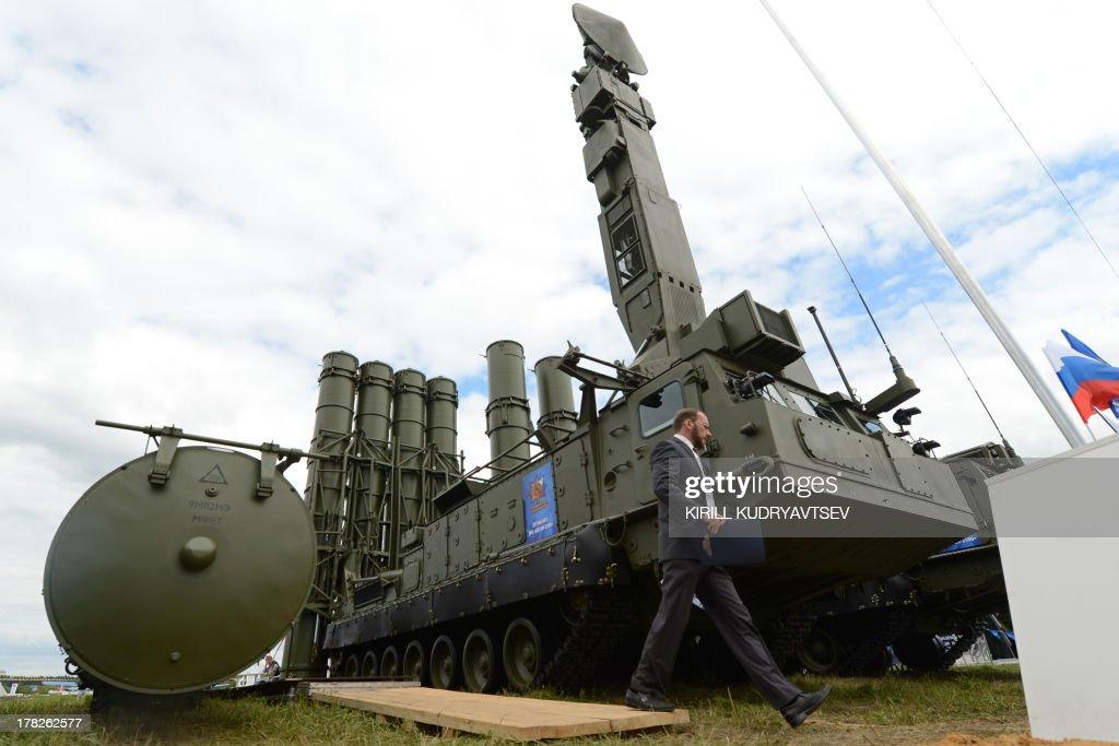 RUSSIA-AEROSPACE-MAKS-2013 : News Photo