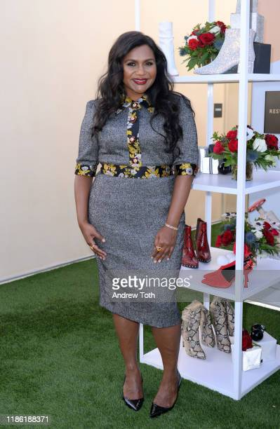 Launches First-Ever DSW Gives Do Good Pop-Up With Mindy Kaling in Los Angeles at Kimpton La Peer Hotel on November 07, 2019 in West Hollywood,...