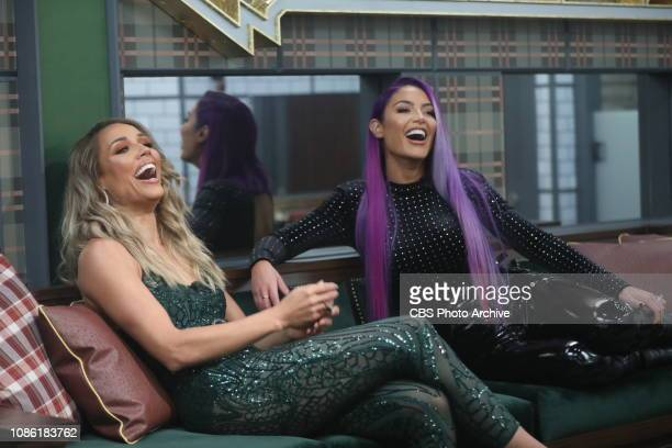EDITION launches with a twonight premiere event Monday Jan 21 and Tuesday Jan 22 on the CBS Television Network Pictured Lolo Jones and Natalie Eva...
