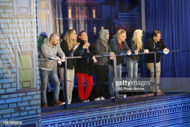 EDITION launches with a twonight premiere event Monday Jan 21 and Tuesday Jan 22 on the CBS Television Network Pictured houseguest watching the HOH...