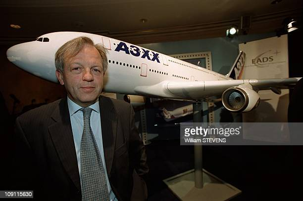 Launching Of Airbus A3Xx Program On June 23Th 2000 In Paris France Philippe Camus