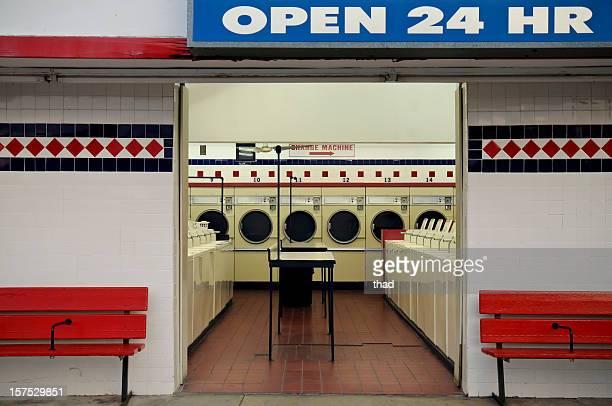Laundromat Open 24 Hr