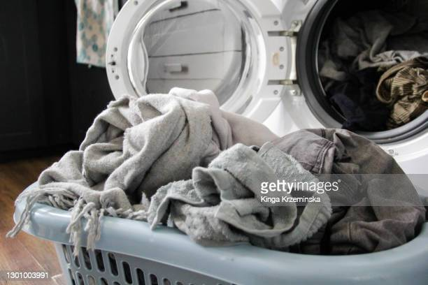 laundry basket - hygiene stock pictures, royalty-free photos & images