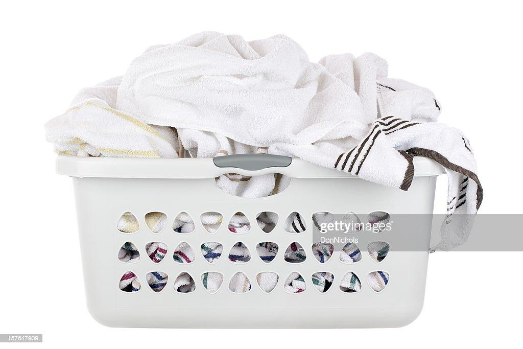 Laundry Basket : Stock Photo