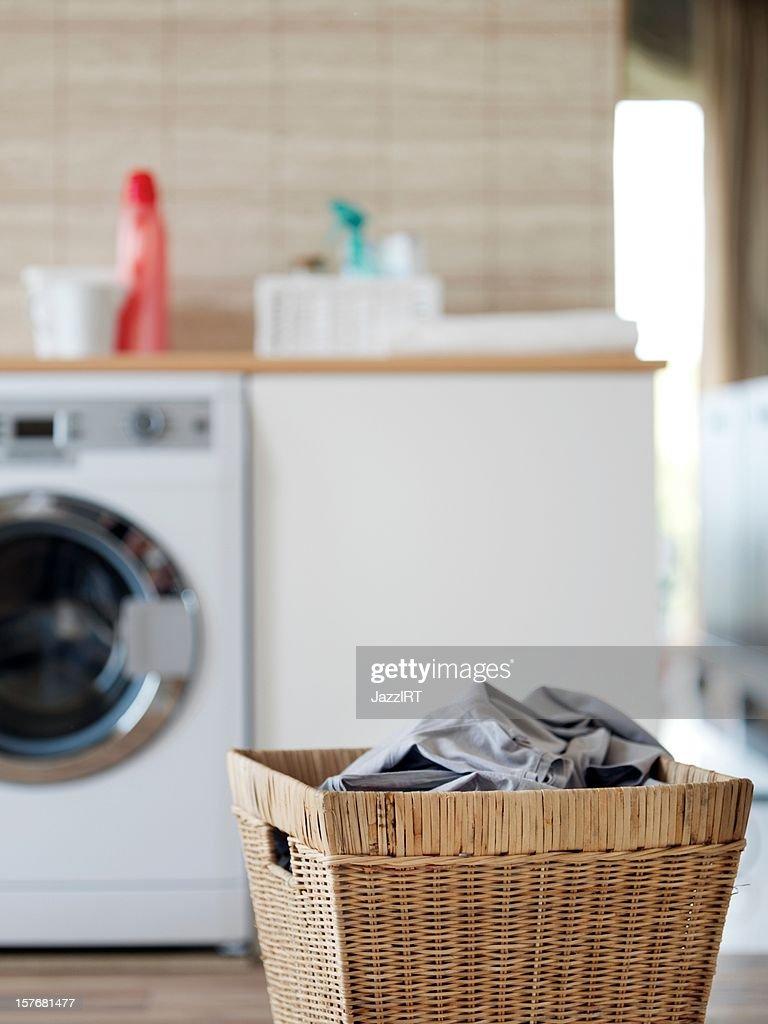 Wäschekorb : Stock-Foto