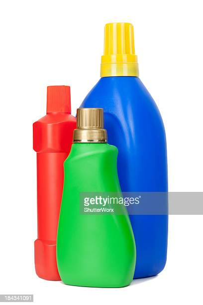 laundry detergent bottles - clorox bleach stock pictures, royalty-free photos & images