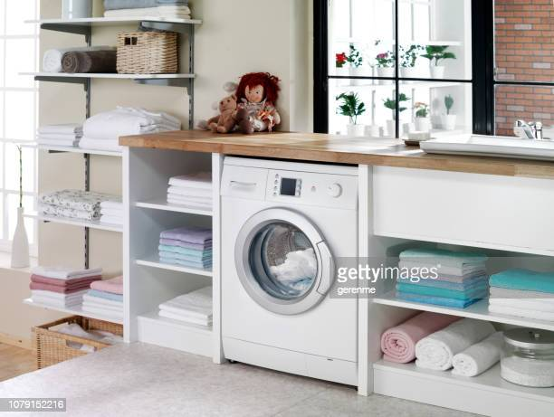 laundry room - laundry stock pictures, royalty-free photos & images