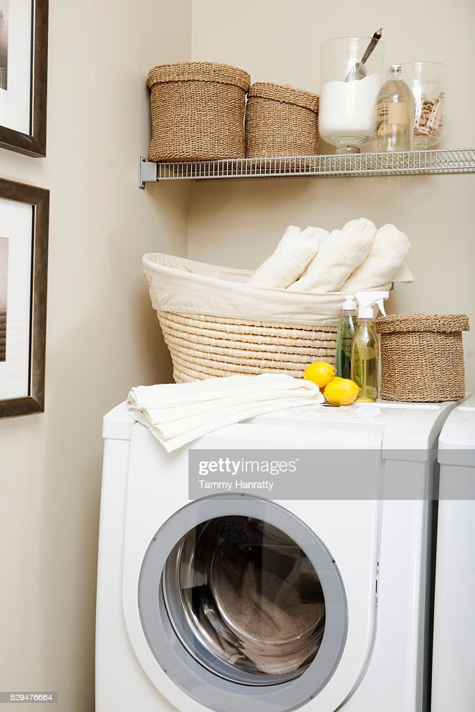 Laundry room : Stock Photo