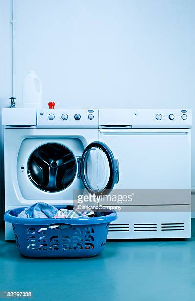 Laundry Room With Washing Machine And Dryer