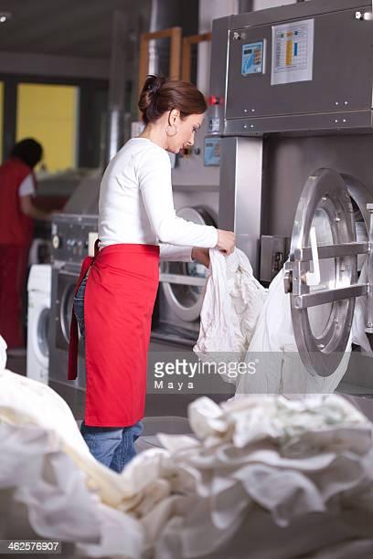 Servicio de lavandería.