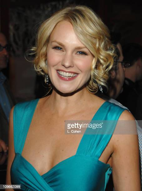 Laura Allen during The Fox All-Star Winter 2007 TCA Press Tour Party - Red Carpet and Inside at Villa Sorriso in Pasadena, California, United States.