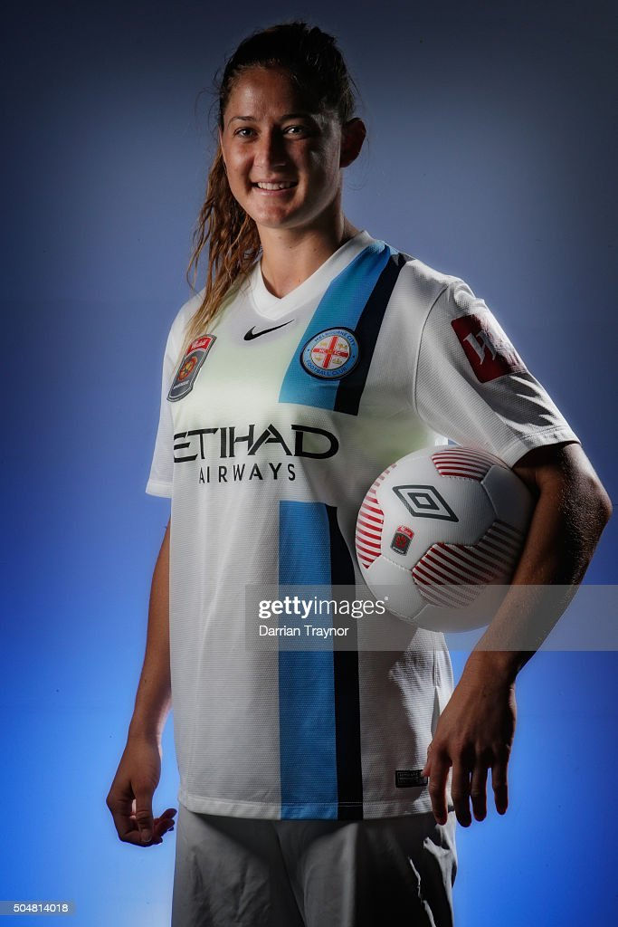 Melbourne City W-League Portrait Session