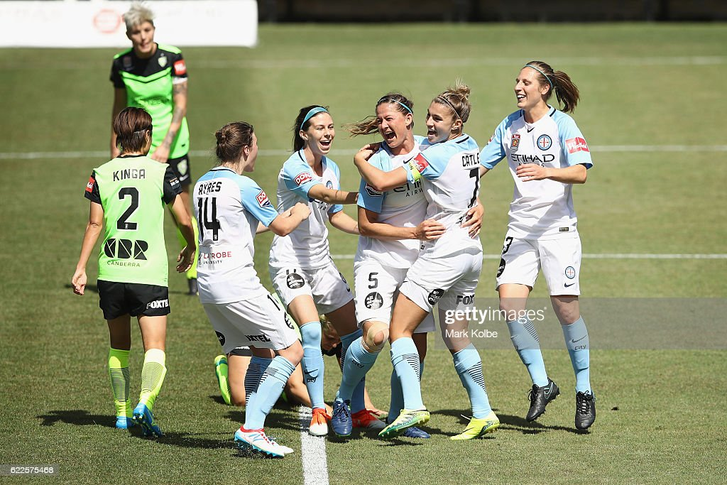 W-League Rd 2 - Canberra v Melbourne City
