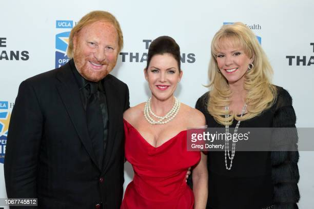 Laura and David McKenzie join Kira Reed Lorsch as they attend The Thalians Holiday Party with Kira Reed Lorsch as Chair at Bel Air Country Club on...