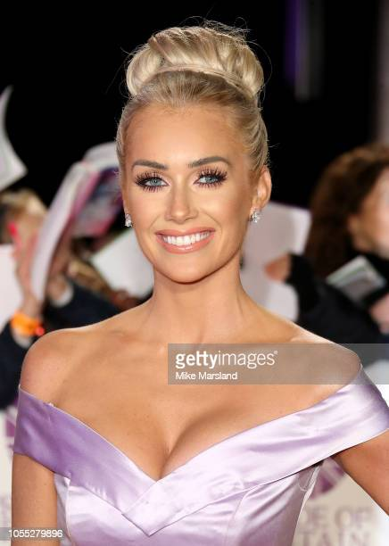 Laura Anderson attends the Pride of Britain Awards 2018 at The Grosvenor House Hotel on October 29 2018 in London England