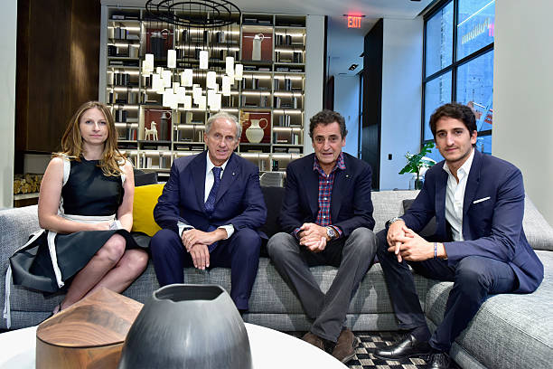 Poliform celebrates grand opening of nyc flagship on for Giovanni spinelli