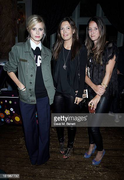 Laura Bailey Amanda Ferry and India Langton attend as Paradise by Way of Kensal Green celebrate it's 5th Anniversary on September 13 2012 in London...