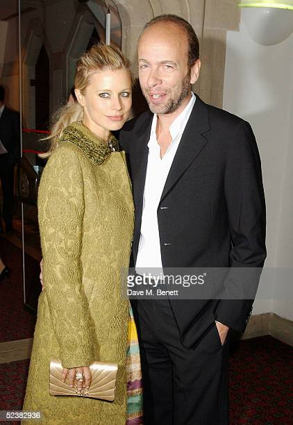 Laura Bailey and Eric Faulkner arrive at the Sony Ericsson Empire Film Awards at the Guildhall on March 13 2005 in London