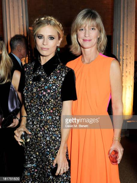 Laura Bailey and Nicola Formby attend a donors dinner hosted by Michael Bloomberg Graydon Carter to celebrate the launch of the new Serpentine...