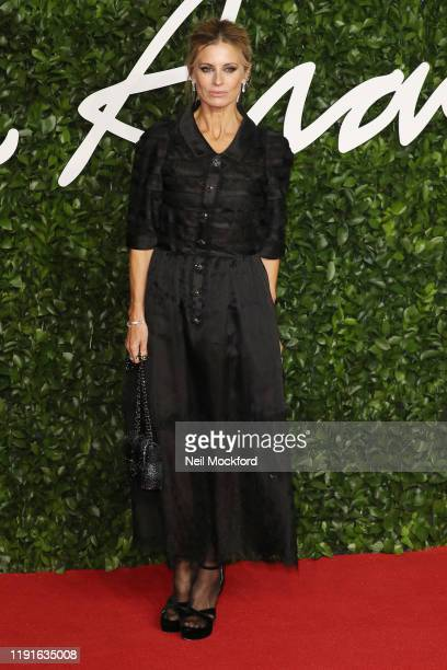 Laura Bailey arrives at The Fashion Awards 2019 held at Royal Albert Hall on December 02 2019 in London England