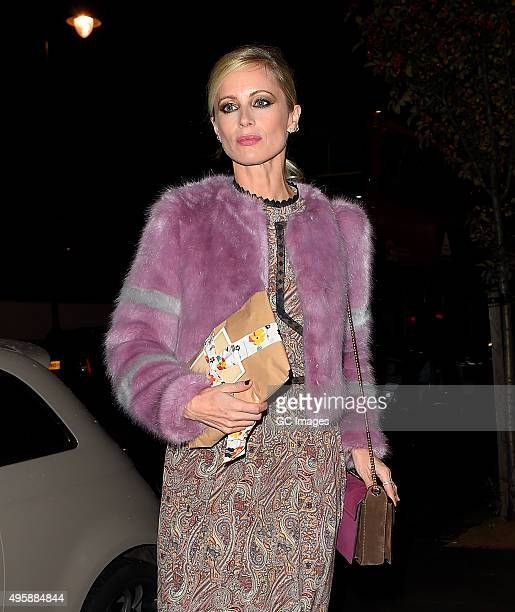 Laura Bailey arrives at The South Kensington Club for Alexa Chung's private dinner to mark the recent launch of fashion app Villois and Alexa's...