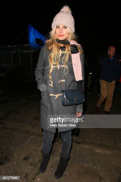Laura Bailey attending the Winter Wonderland VIP Launch on November 21 2013 in London England
