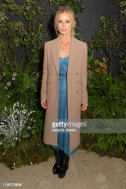 Laura Bailey attends a private dinner to celebrate the launch of the new ALEXACHUNG x Sunglass Hut eyewear collection at Wild by Tart on February 16...