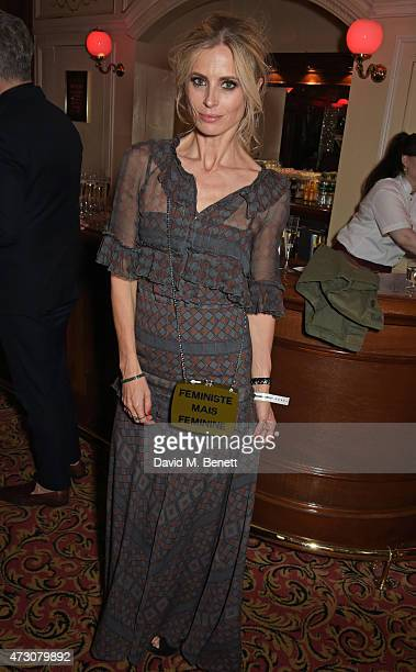 """Laura Bailey attends as """"Billy Elliot The Musical"""" celebrates its 10th Anniversary in London's West End at the Victoria Palace Theatre on May 12,..."""