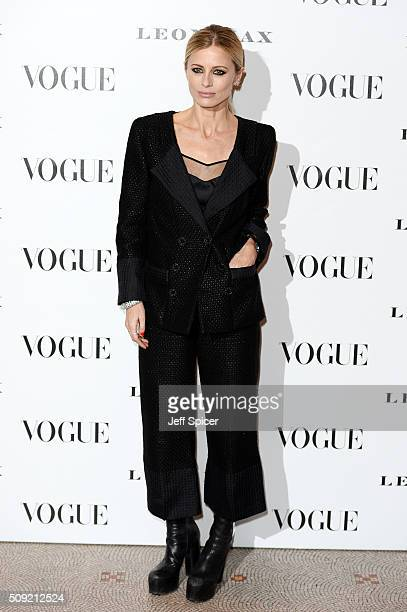 Laura Bailey attends at Vogue 100 A Century Of Style at the National Portrait Gallery on February 9 2016 in London England