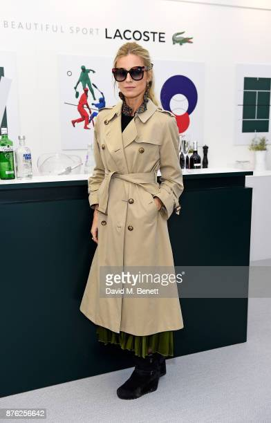 Laura Bailey attends Lacoste VIP Lounge at the 2017 ATP World Tour Tennis Finals on November 19 2017 in London United Kingdom