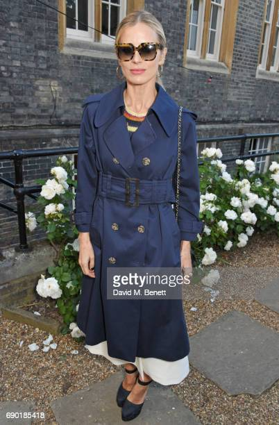 Laura Bailey attends the ALEXACHUNG London Launch Summer 17 Collection Reveal at the Danish Church of Saint Katharine on May 30 2017 in London England