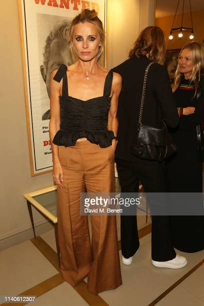 Laura Bailey attends the Bella Freud 'Happening' poetry session at on May 1, 2019 in London, England.