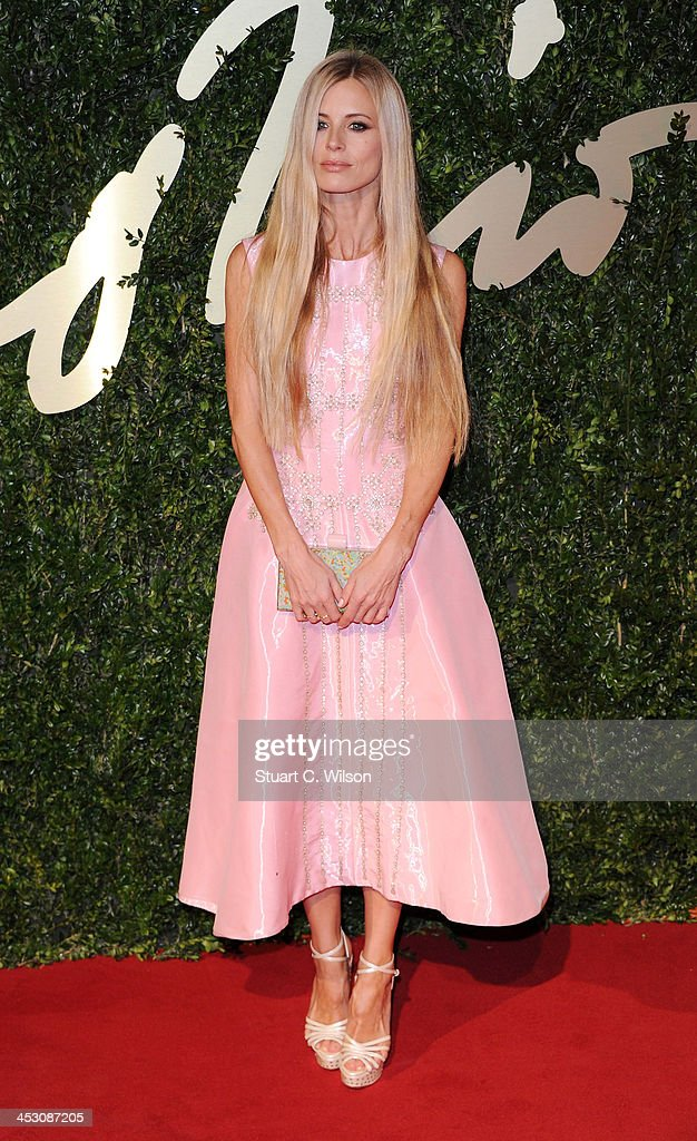 Laura Bailey attends the British Fashion Awards 2013 at London Coliseum on December 2, 2013 in London, England.
