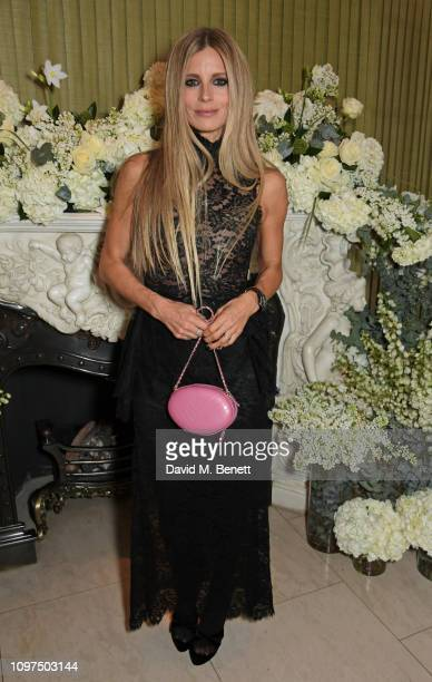 Laura Bailey attends the British Vogue and Tiffany & Co. Celebrate Fashion and Film Party at Annabel's on February 10, 2019 in London, England.
