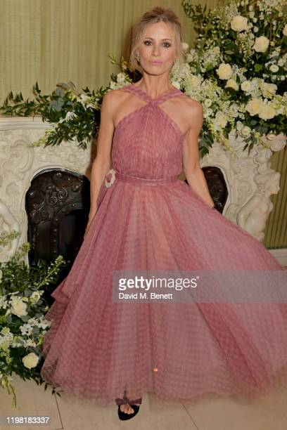 Laura Bailey attends the British Vogue and Tiffany Co Fashion and Film Party at Annabel's on February 2 2020 in London England
