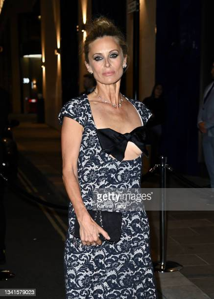 Laura Bailey attends the British Vogue x Tiffany & Co. Fashion and Film party at The Londoner Hotel on September 20, 2021 in London, England.