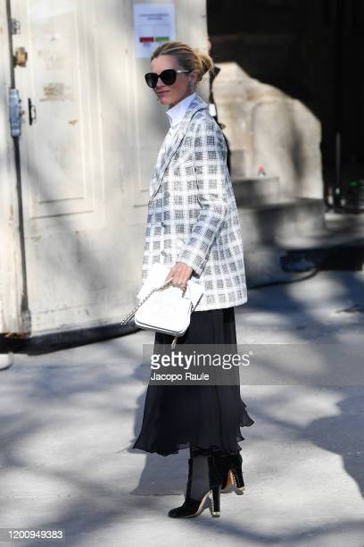 Laura Bailey attends the Chanel Haute Couture Spring/Summer 2020 show as part of Paris Fashion Week on January 21 2020 in Paris France