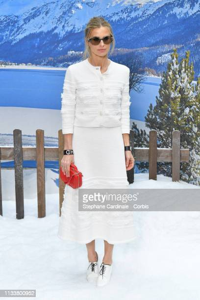 Laura Bailey attends the Chanel show as part of the Paris Fashion Week Womenswear Fall/Winter 2019/2020 on March 05, 2019 in Paris, France.
